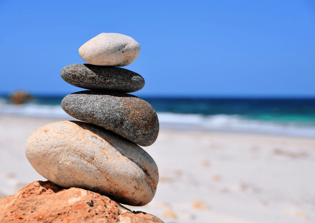 Relaxation - Beach Stones
