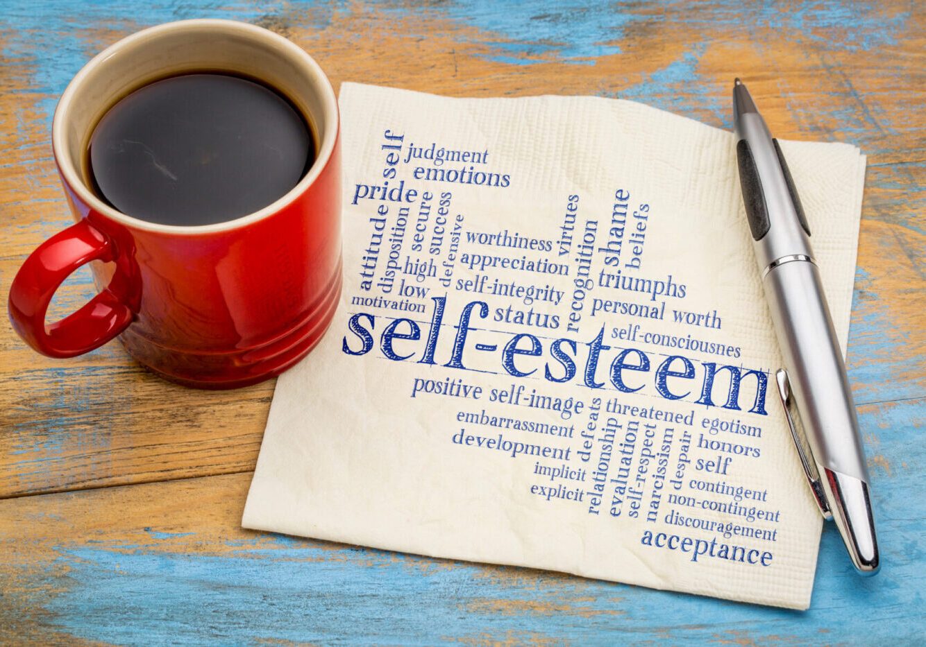 Hypnosis can help address low self esteem and improve self confidence. Available in Horsham and Crawley